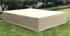Outdoor Sofa Sectional Cover Rectangle 98-126 Inches Waterproof