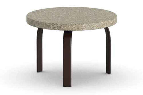 Stonegate 24 Inch Round Side Table