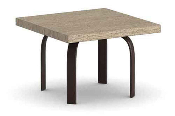 "Slate 24"" Square Side Table"