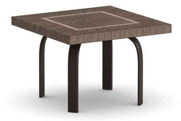 "Sorrento 24"" Square Side Table"