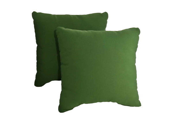 Hunter Green Pillows (Set Of 2)