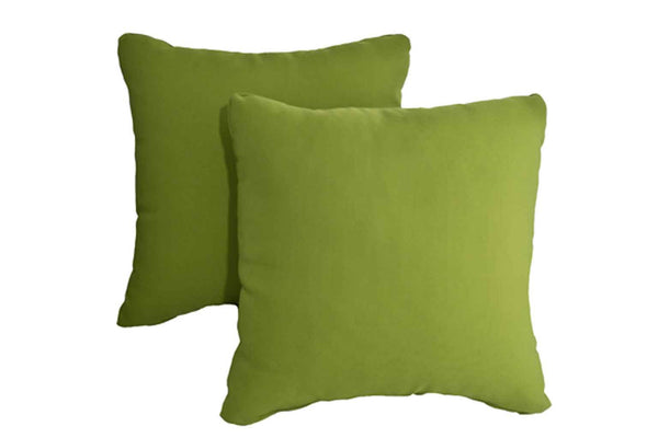 Lime Green Pillows (Set of 2)
