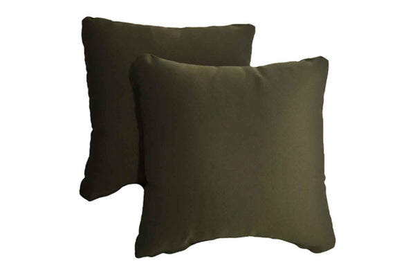 Metallic Green Pillows (Set of 2)