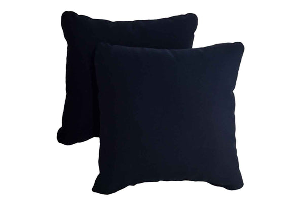 Navy Blue Pillows (Set of 2)