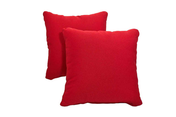 Red Pillows (Set of 2)