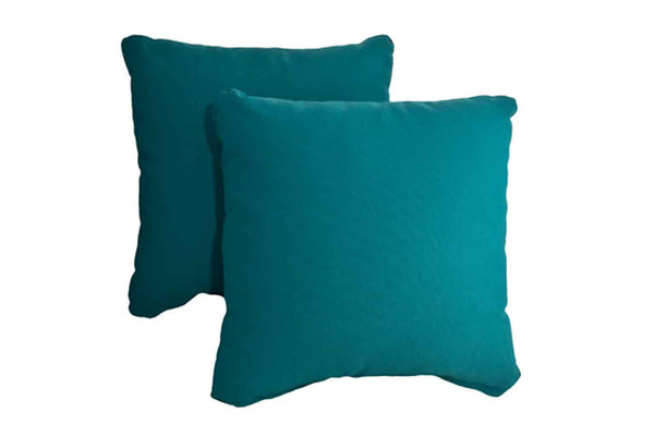 Teal Pillows (Set of 2)