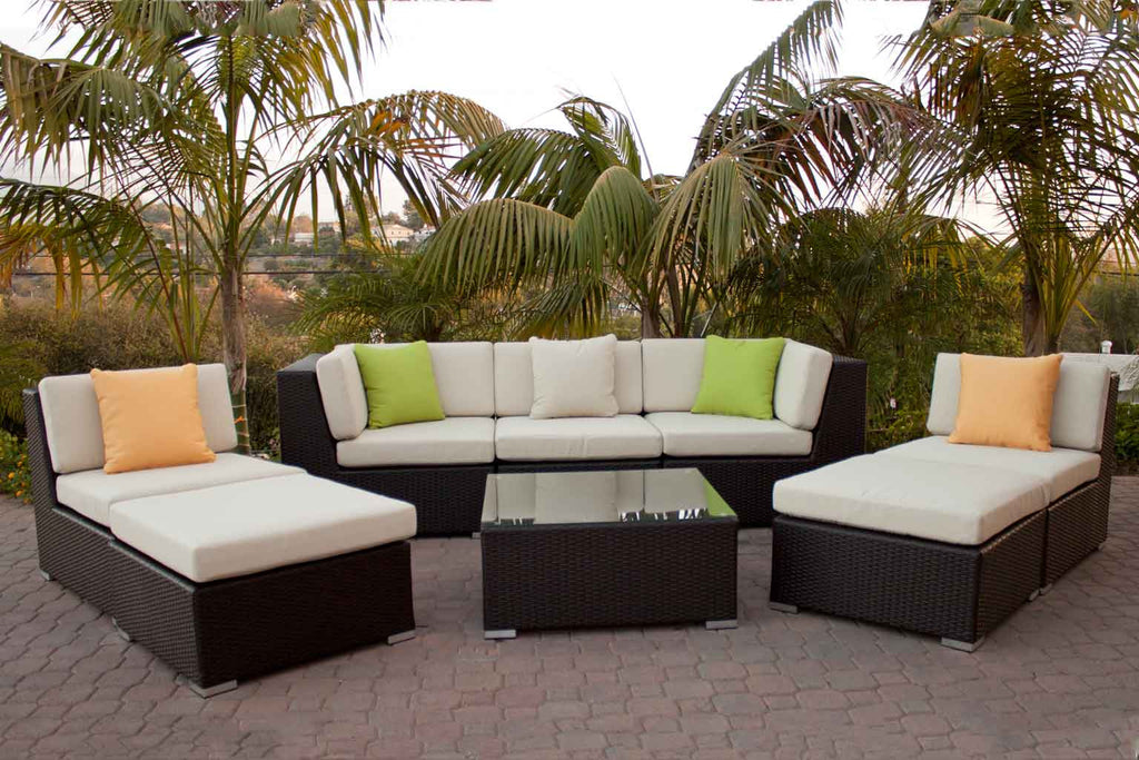 Wondrous Outdoor Patio Chaise Seating Set Wicker Euroluxpatio Com Pabps2019 Chair Design Images Pabps2019Com