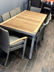 Boston 8 Person Teak Dining Set