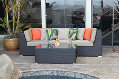 Contempo 4 Piece Sofa Set