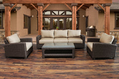 Conversation Sets - Duxbury 4 Piece Sofa Club Set