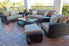 Conversation Sets - Duxbury 6 Piece Sofa Set