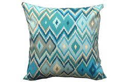 Creek Blue Print 15 x 15 Pillows (Set of 2)