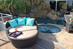 La Jolla Wicker Daybed