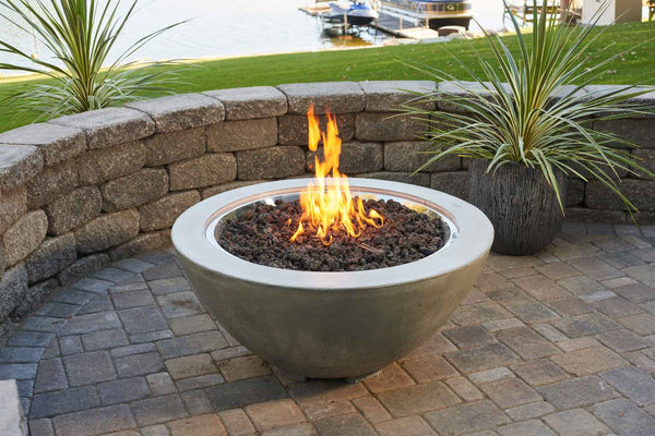 Outdoor Great Room Cove Fire Bowl Euroluxpatio Com