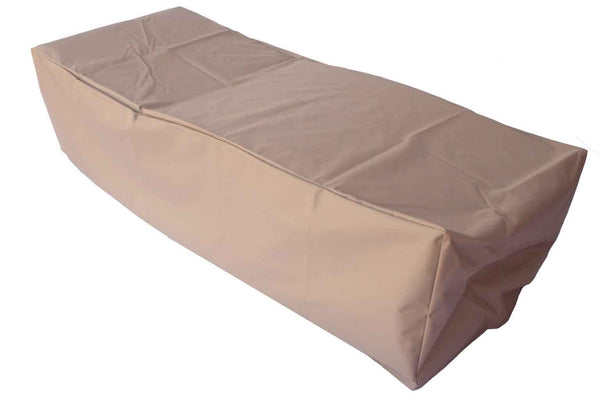 Outdoor Chaise Lounge Cover 79-30-20-inches Beige Rainproof Rectangle