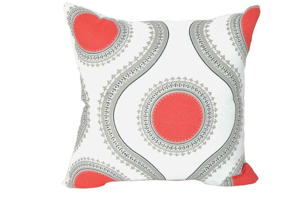 Indian Coral Print 15 x 15 (Set of 2)