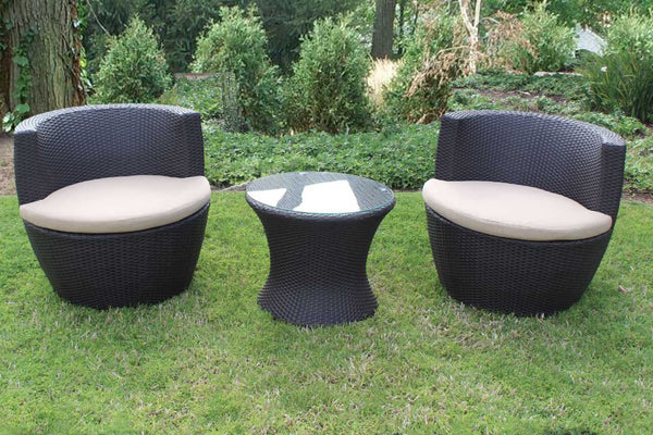 Cocoon 3 Piece Chat Set