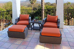 Small Chat Sets - Sunset Swivel Club Chat Set