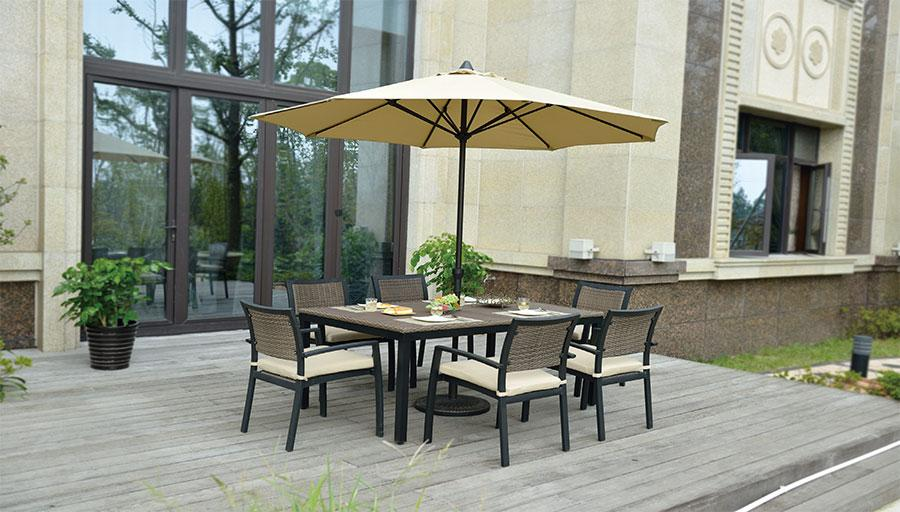 Outdoor Umbrella Sets