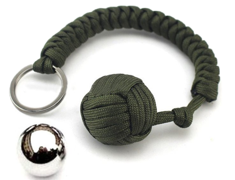 Paracord Survival Keychain - 60% OFF!