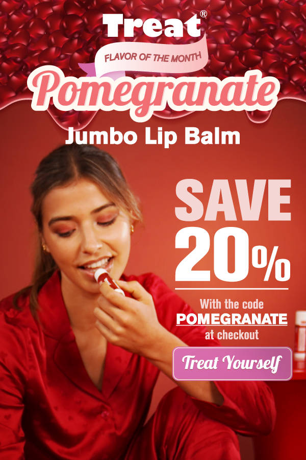 Pomegranate Jumbo Lip Balm Flavor of the Month