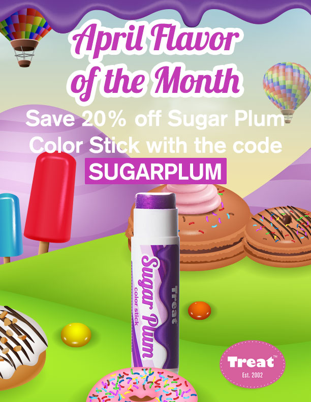 Treat Sugar Plum Color Stick