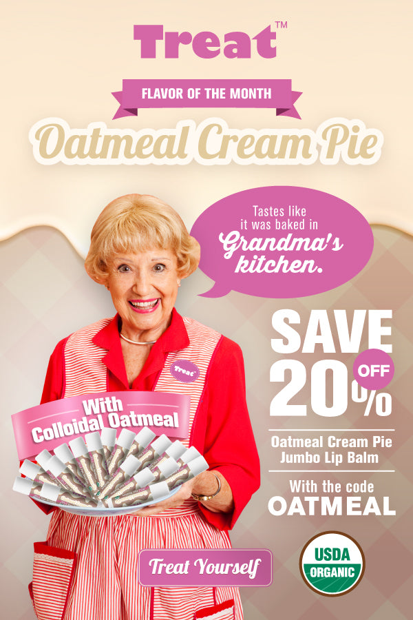 Oatmeal Cream Pie Flavor of the Month