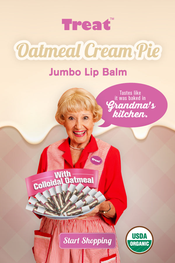Oatmeal Cream Pie Jumbo Lip Balm