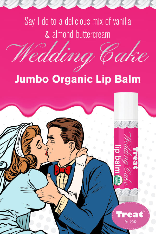 Treat Wedding Cake Jumbo Lip Balm