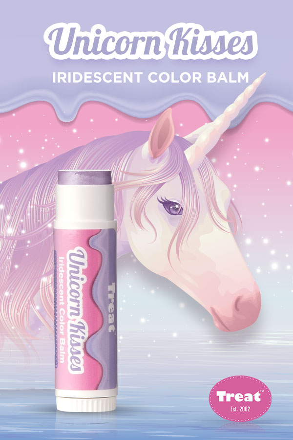 Treat Unicorn Kisses Iridescent Color Balm