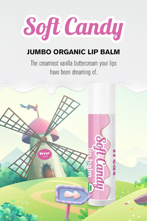 Soft Candy Jumbo Lip Balm