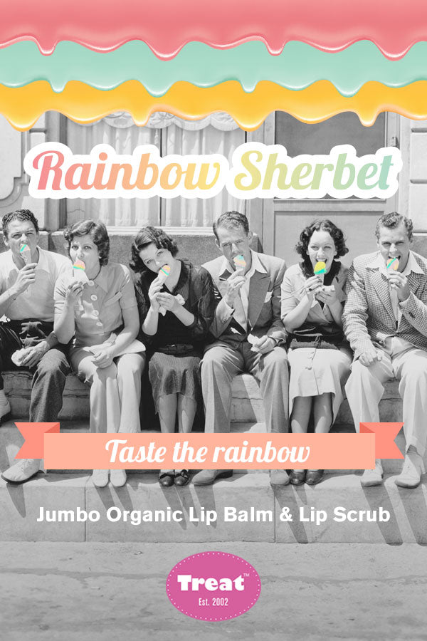 Treat Jumbo Organic Lip Balm & Lip Scrub