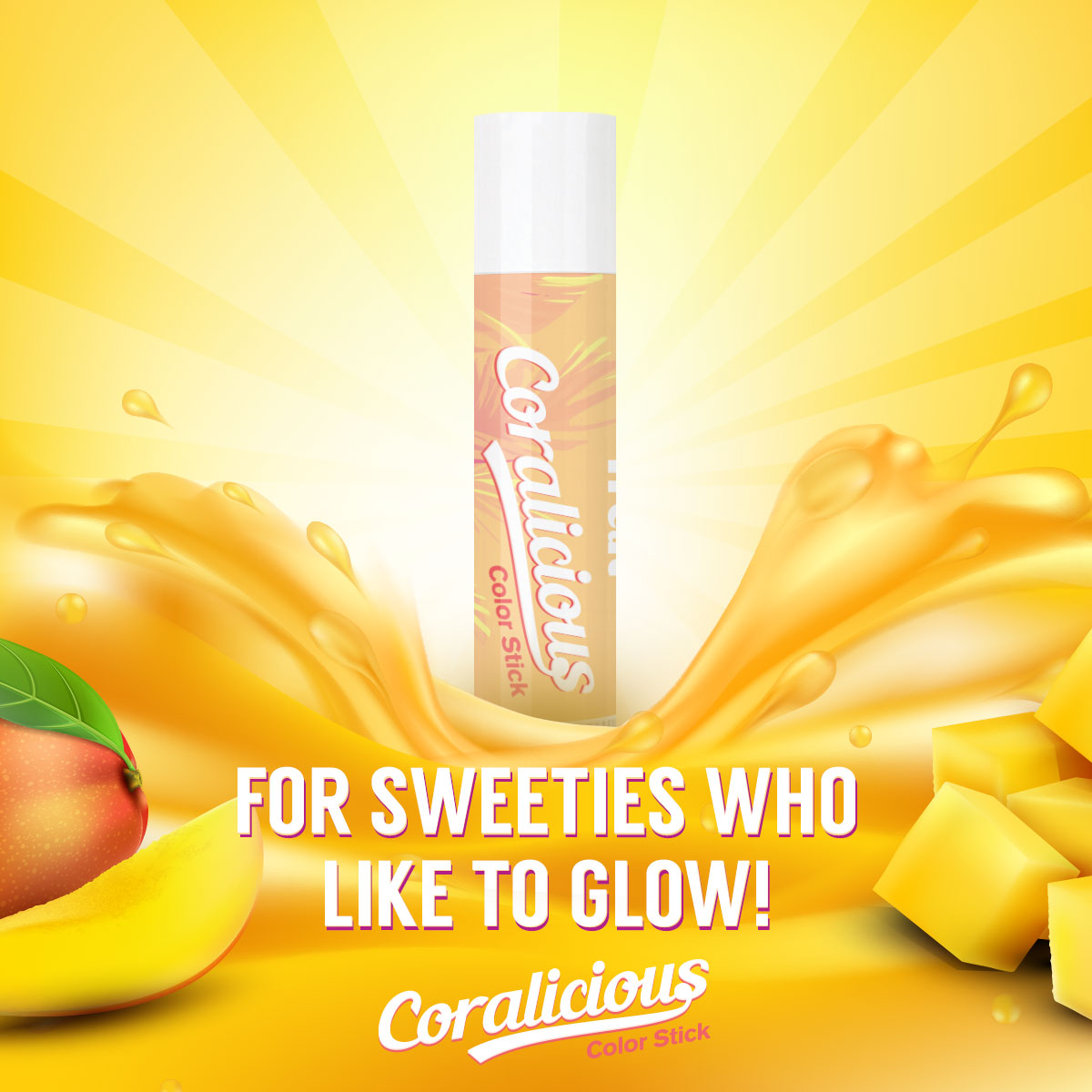 Treat Coralicious Color Stick