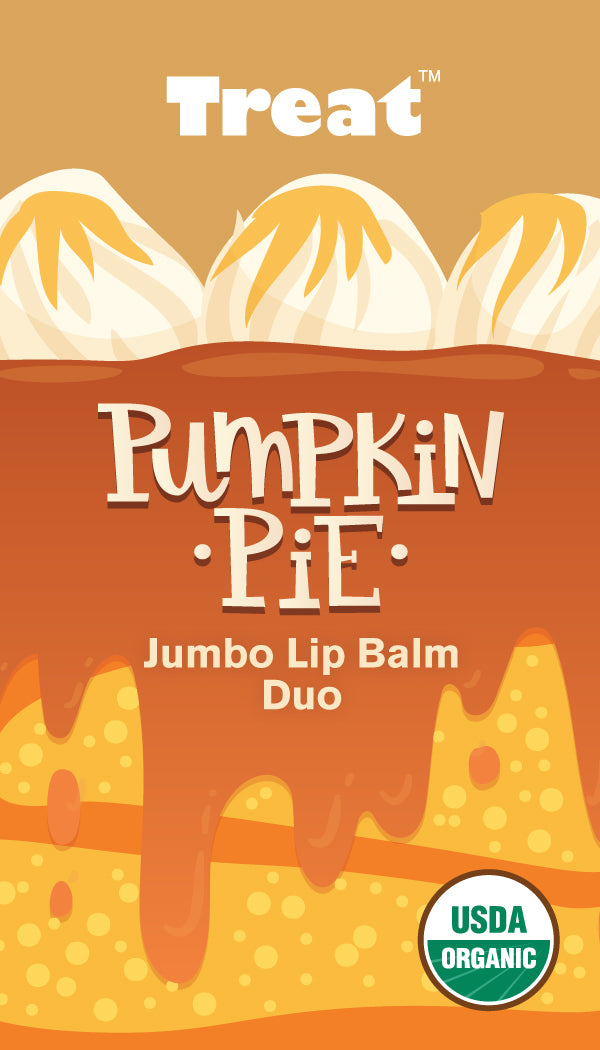 Pumpkin Pie Jumbo Lip Balm Duo