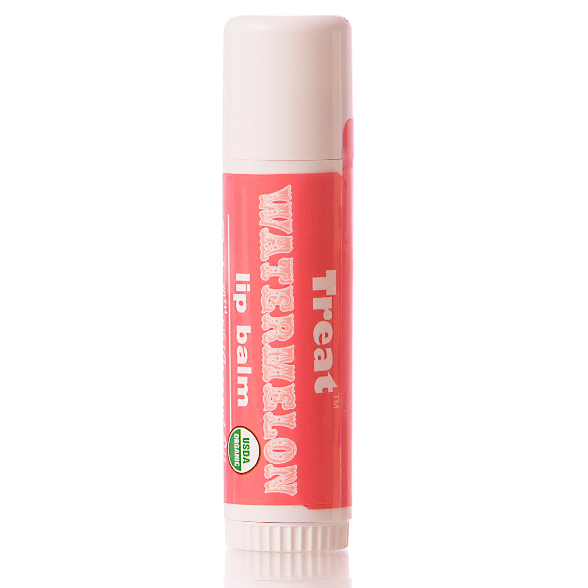 Treat Watermelon Jumbo Organic Lip Balm