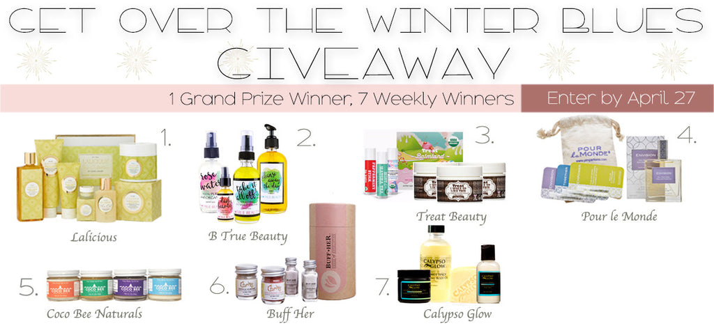 Get over the winter blues giveaway