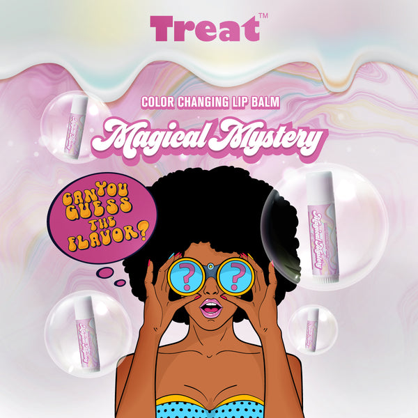 Magical Mystery Flavor Color Changing Jumbo Lip Balm