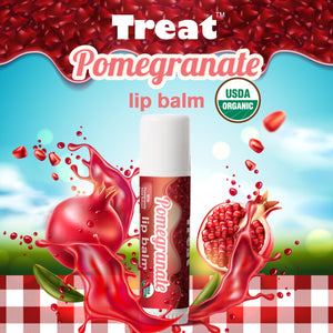 Pomegranate Jumbo Lip Balm