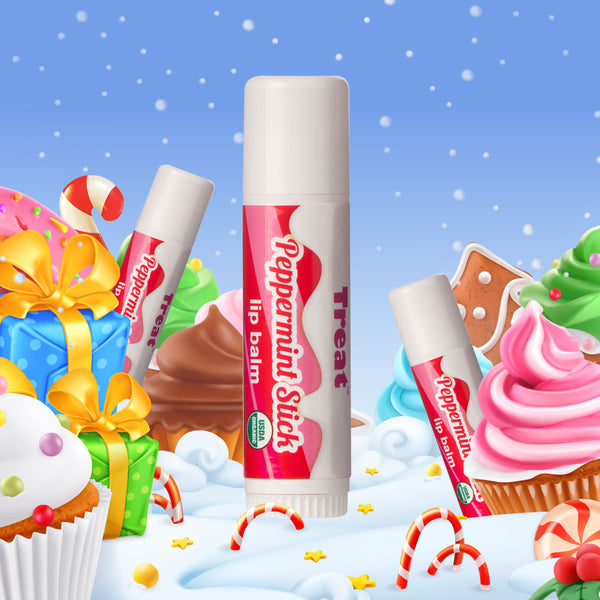 Peppermint Stick Jumbo Lip Balm