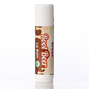 Root Beer Jumbo Lip Balm & Shimmering Tinted Lip Balm Duo