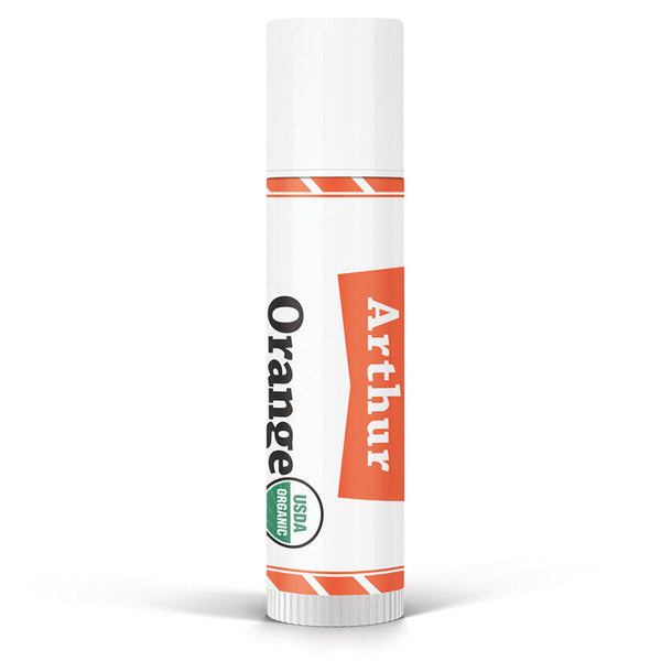 Men's Orange Jumbo Lip Balm
