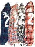 Vintage DOLL FACE Flannel (XL)