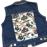 Moto Garage Denim Vest
