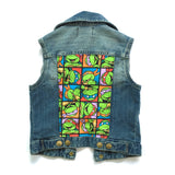 Ninja Turtles Denim Vest
