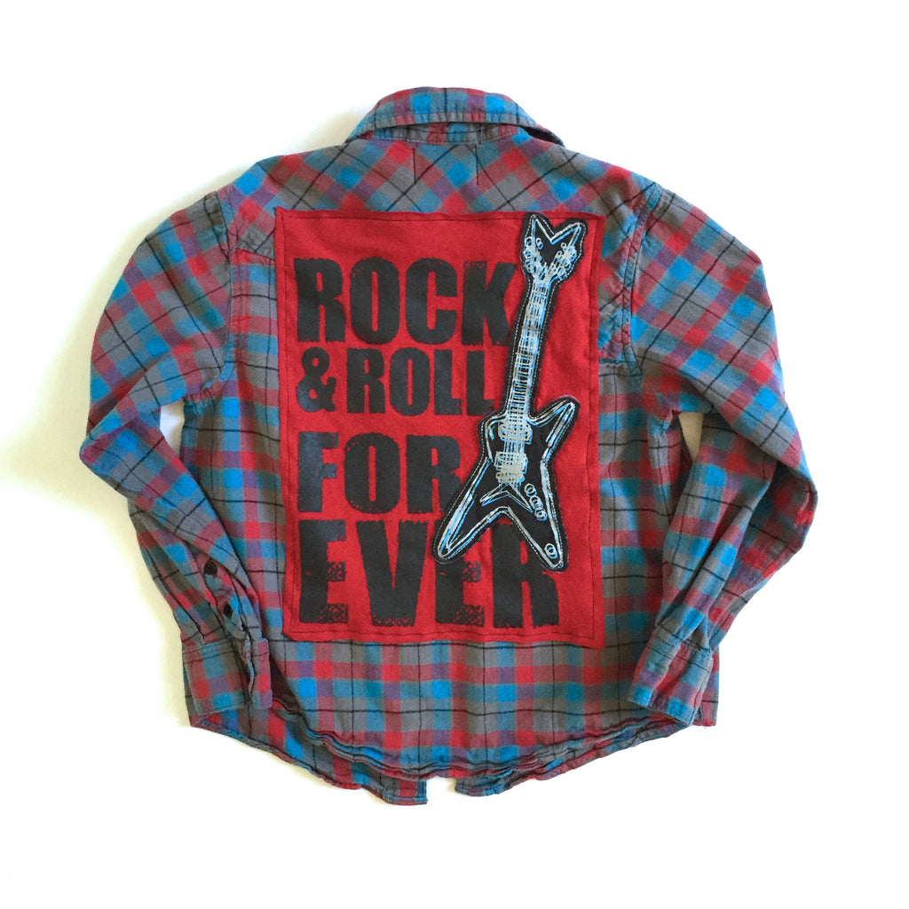 Rock N Roll Forever Flannel