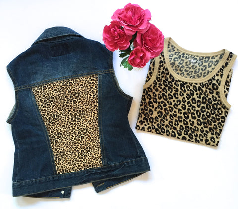 Sublime Studded Denim Vest