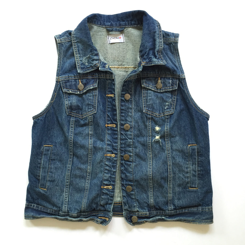 NYC Denim Vest