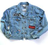 Vintage Rock N Roll Denim Jacket