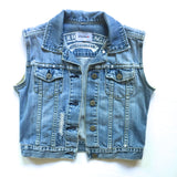 City of Angles Denim Vest