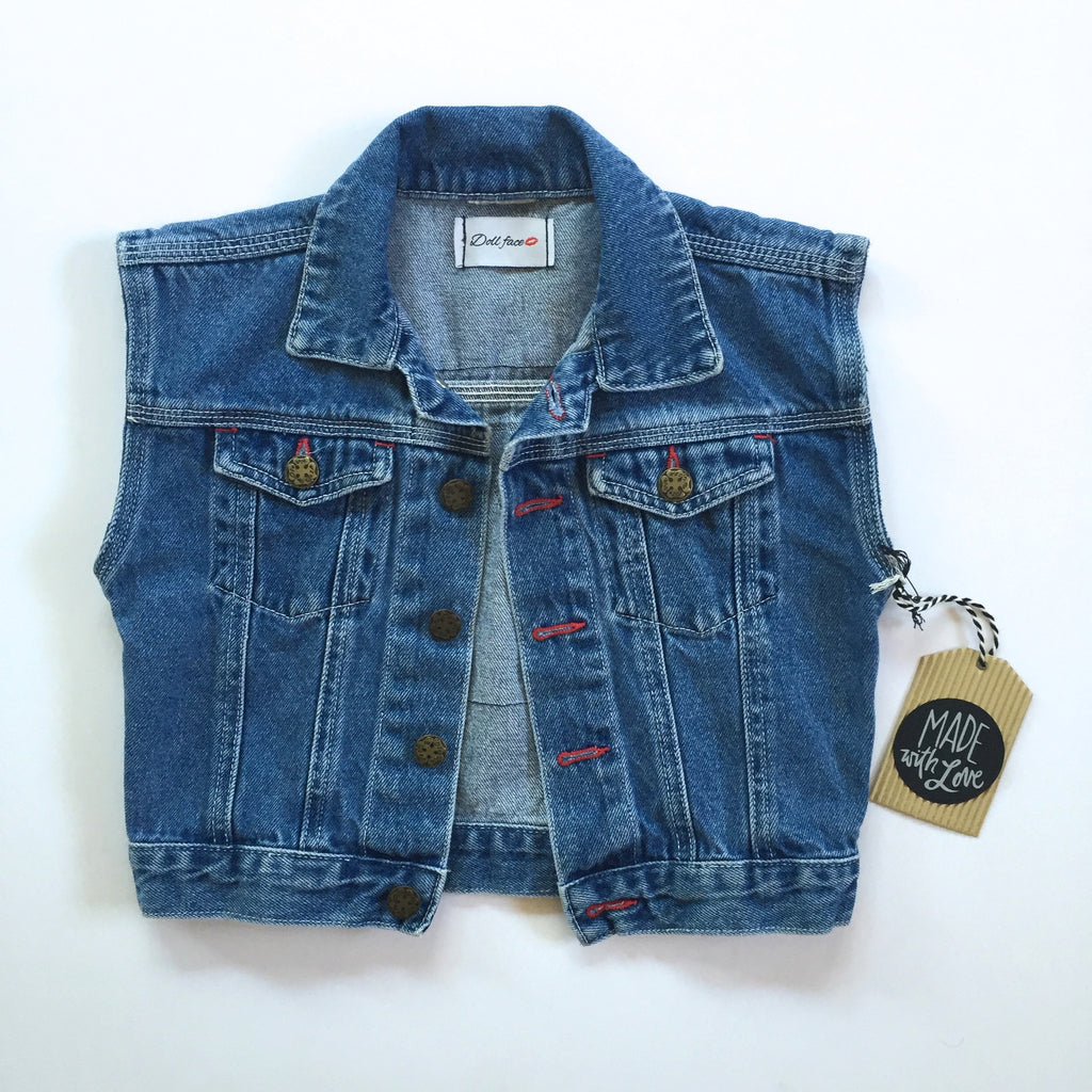 Rock N Roll Denim Vest